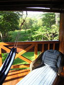 Front Porch of the Beach Villa- Montezuma